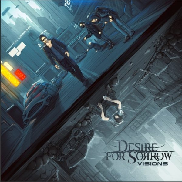 Desire for Sorrow Visions CD cover