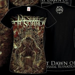 "Women T-shirt ""At Dawn of Abysmal Ruination"""