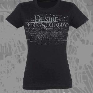 Women T-shirt Logo – Black